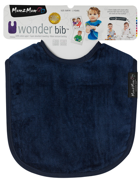 Mum 2 Mum Wonder Bib, Navy product photo
