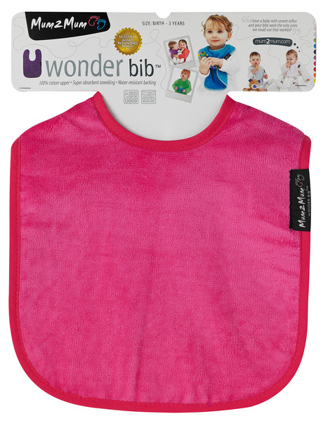 Mum 2 Mum Wonder Bib, Pink product photo
