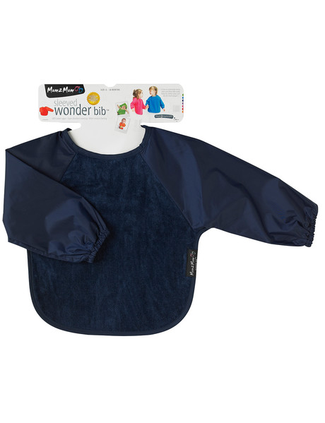 Mum 2 Mum Long Sleeve Wonder Bib, Navy product photo