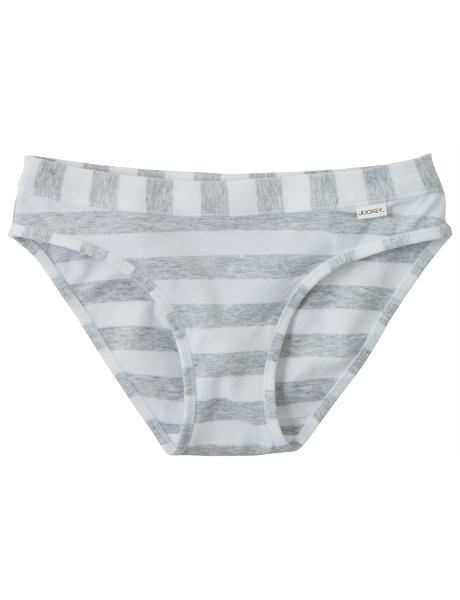 Jockey Cotton Comfort Striped Bikini Brief product photo