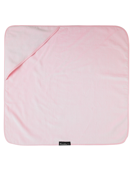 Mum 2 Mum Hooded Towel, Baby Pink product photo