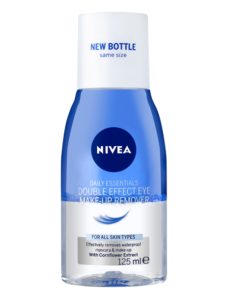 Image result for nivea daily essentials double eye makeup remover