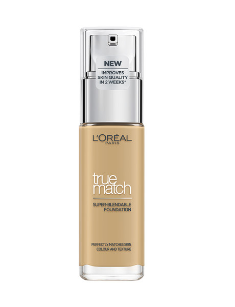 L'Oreal Paris True Match Foundation - Golden Natural, 4W product photo
