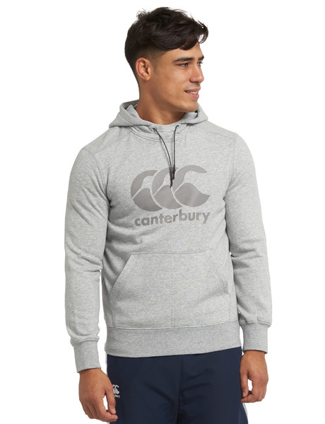 Canterbury Core Logo Hoodie, Charcoal product photo
