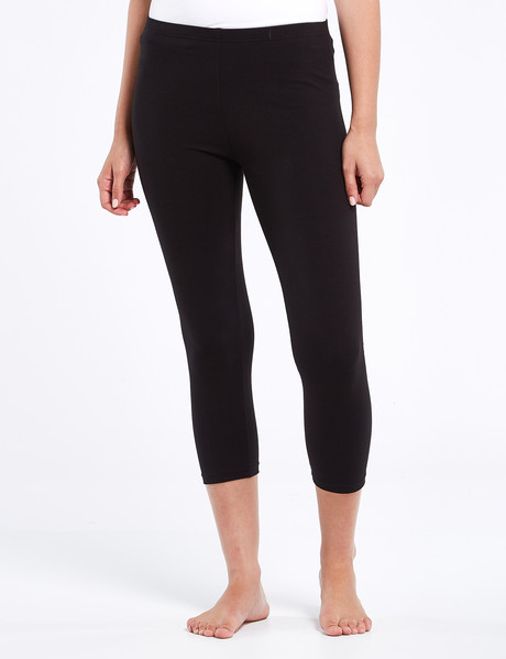 Bodycode Crop Legging, Black product photo