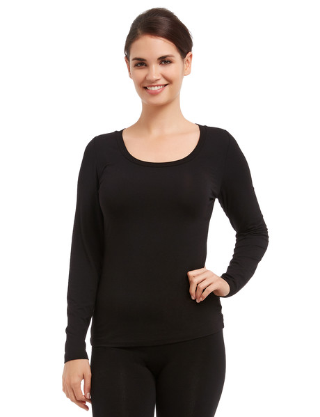 Bodycode Long-Sleeve Tee, Black product photo