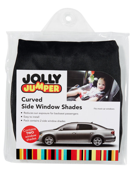 Jolly Jumper Curved Side Window Shades, 2-Pack product photo