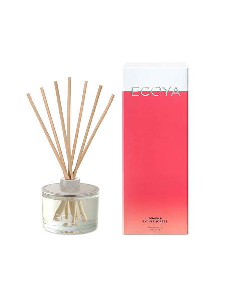 Ecoya Reed Diffuser, Guava & Lychee product photo