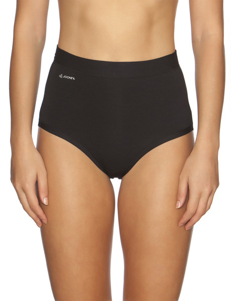 Jockey Woman Comfort Classic Bamboo Full Brief, Black product photo
