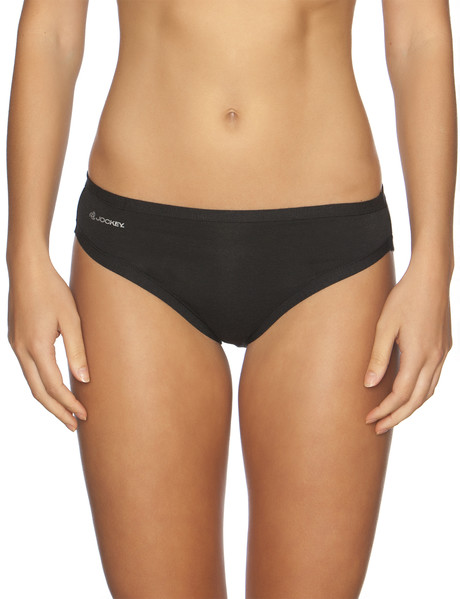 Jockey Woman Comfort Classic Bamboo Bikini Brief, Black product photo