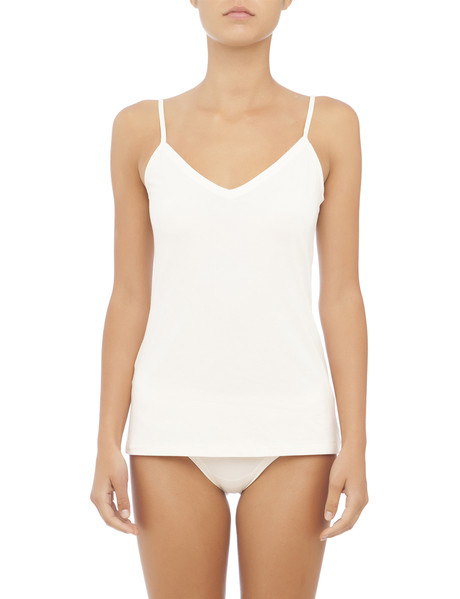 Jockey Woman Comfort Classic Bamboo Reverse Cami, Cream product photo
