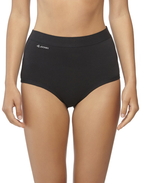 Jockey Woman Comfort Classic Full Brief 2-Pack Black product photo