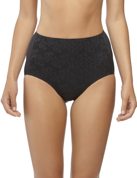Jockey Woman No Ride Up Lace Full Brief Black product photo