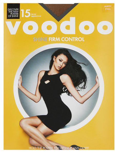Voodoo Sheer Shine Firm Control Pantyhose, 15 Denier product photo
