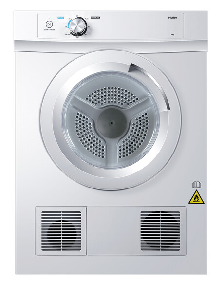 Haier 6kg Sensor Vented Dryer, White, HDV60A1 product photo
