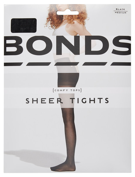 Bonds Sheer Tight 15D, Black product photo