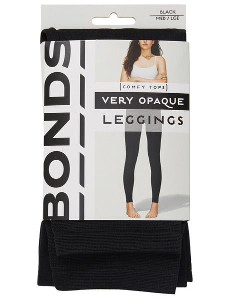 Bonds Very Opaque Legging 120D, Black product photo