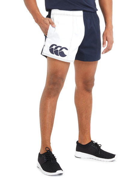 Canterbury Twill Harlequin Short, Navy product photo