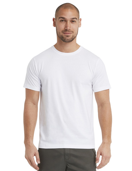 Chisel Ultimate Crew Tee, White product photo