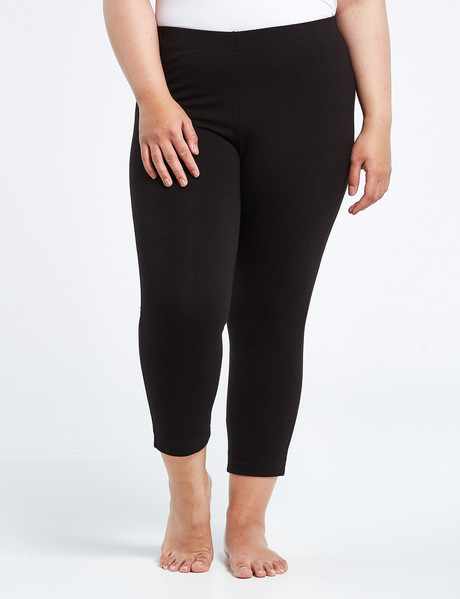 Bodycode Curve Crop Legging, Black product photo