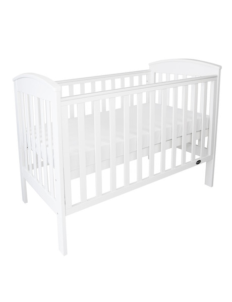 Babyhood Clic Curve Cot White Product Photo