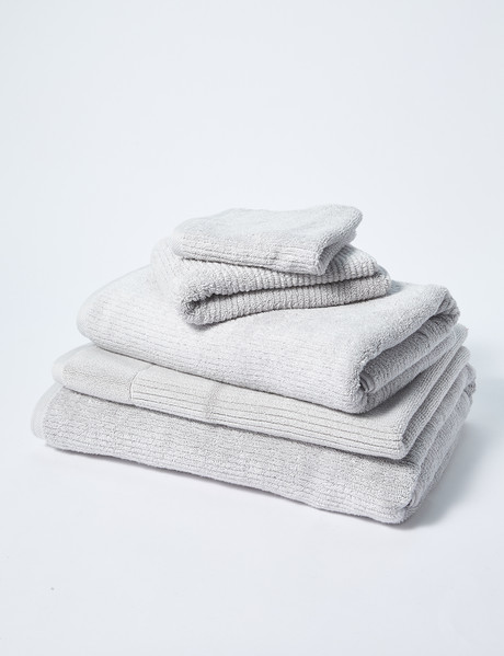 Sheridan Living Texture Towel Range, Silver product photo