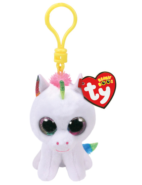 Ty Beanies Beanie Boos Clip On White Unicorn product photo