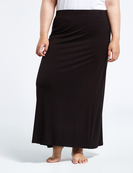 Bodycode Curve Bodycode Curve A Line Skirt, Black product photo