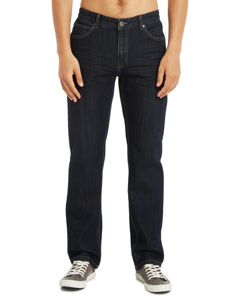Chisel Stretch Regular Straight Leg Jean, Dark Indigo product photo