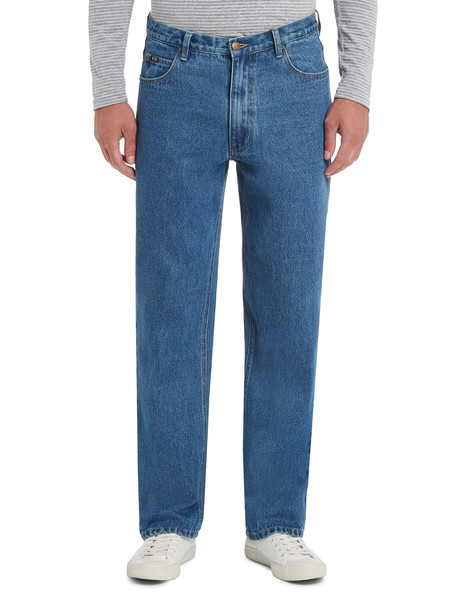 B90's Straight Leg Regular Length Jean, Stonewash product photo