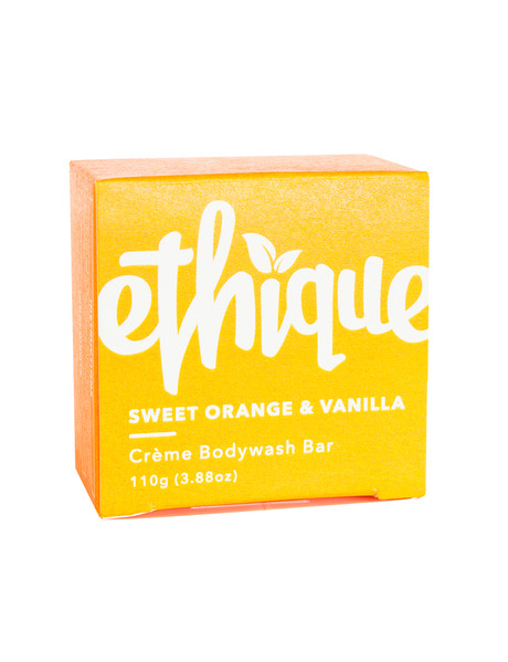 Ethique Sweet Orange & Vanilla Creme Bodywash, 110g product photo