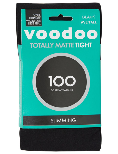 07da56708 Voodoo Totally Matte 100D Slimming Tight Black product photo