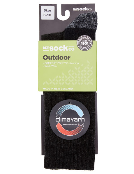 Outdoor Collection Climayarn Wool Blend Sock product photo