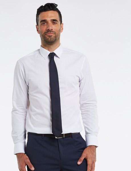Chisel Tailored Fit Shirt, White product photo