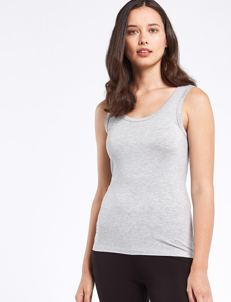 Bodycode Tank Top, Grey Marle product photo