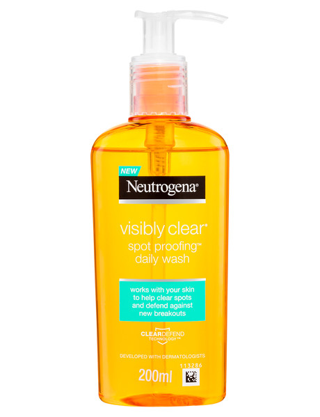 Neutrogena Visibly Clear Spot Proofing Daily Wash, 200ml product photo