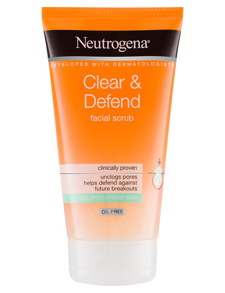 Neutrogena Visibly Clear Spot Proofing Smoothing Scrub 150mL product photo