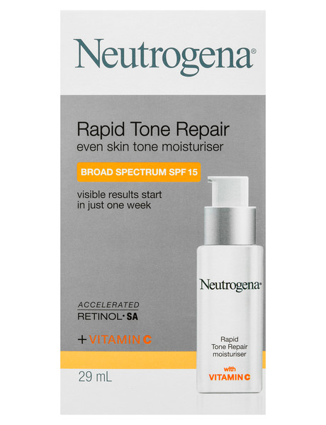 Neutrogena Rapid Tone Repair Moisturiser SPF15, 29ml product photo