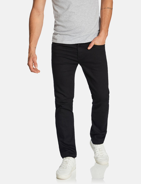Connor Regan Slim Jeans, Black product photo