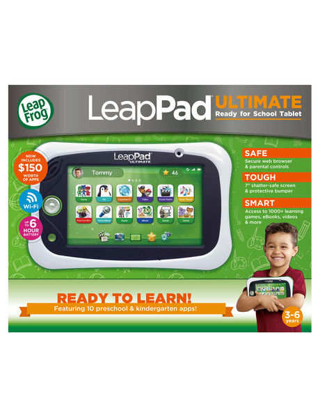 Leap Frog LeapPad Ultimate Get Ready For School Bundle product photo