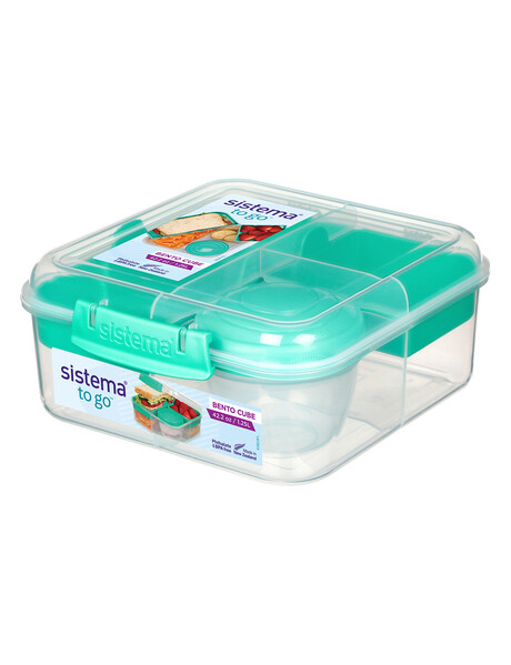Sistema To Go Bento Cube, 1.25L, Assorted Colours product photo