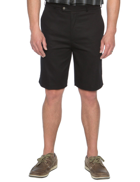 Savane Freedom Flat Front Short, Black product photo