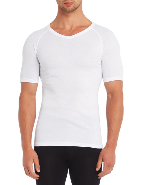 Superfit Short-Sleeve Thermal Top, White product photo