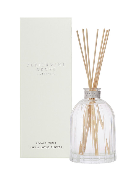Peppermint Grove Diffuser 350ml Lily Lotus Flower 85303