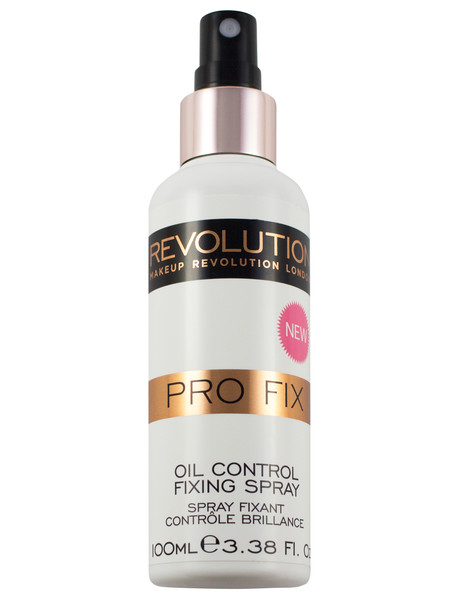 Makeup Revolution Pro Fix Fixing Spray, Oil Control, 100ml product photo