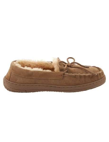 Mi Woollies Moccassin Slipper 208, Tan product photo