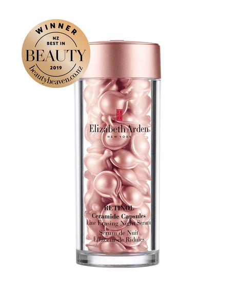 Elizabeth Arden RETINOL Ceramide Capsules, Line Erasing Night Serum, 60 Capsules product photo