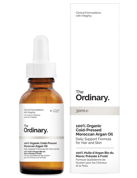 The Ordinary 100% Organic Cold-Pressed Moroccan Argan Oil, 30ml product photo