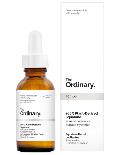 The Ordinary 100% Plant-Derived Squalane, 30ml product photo