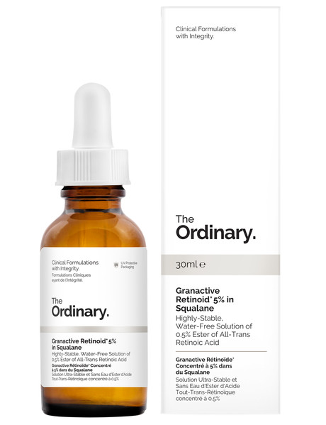 The Ordinary Granactive Retinoid 5% in Squalane, 30ml product photo